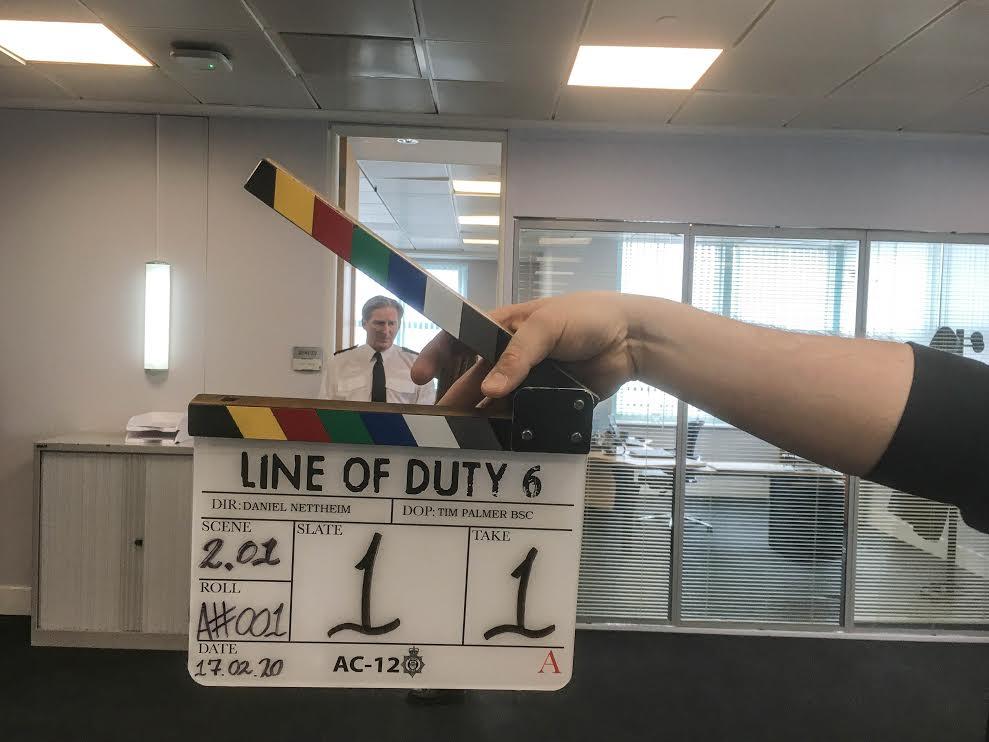 Line of duty 6. sezon çekimleri